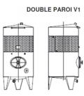 Cuve double paroi schéma